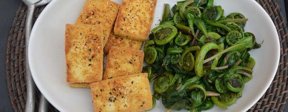 tofu and ramps platter 2