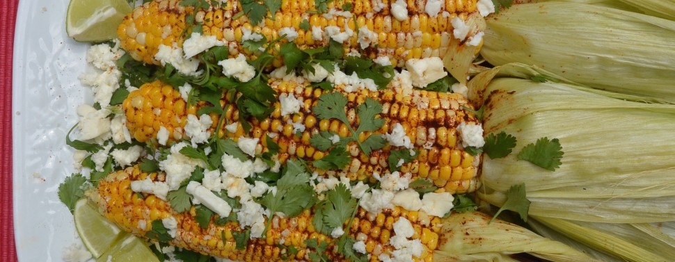 Corn Mexican Platter