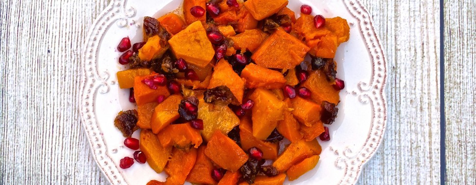 Roasted Squash with Dates 1