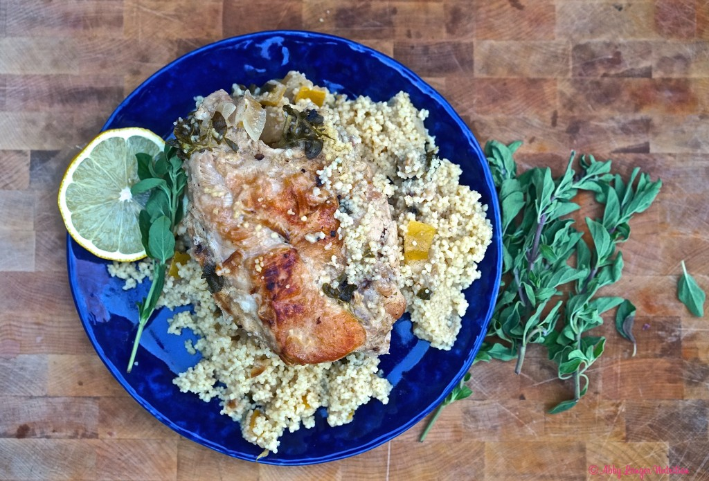One Pot Chicken with Preserved Lemon and Couscous1