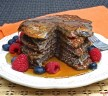 Awesome Raspberry Protein Pancakes