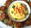 (Recipe Redux) Chickpea and Lentil Falafels with Homemade Houmous