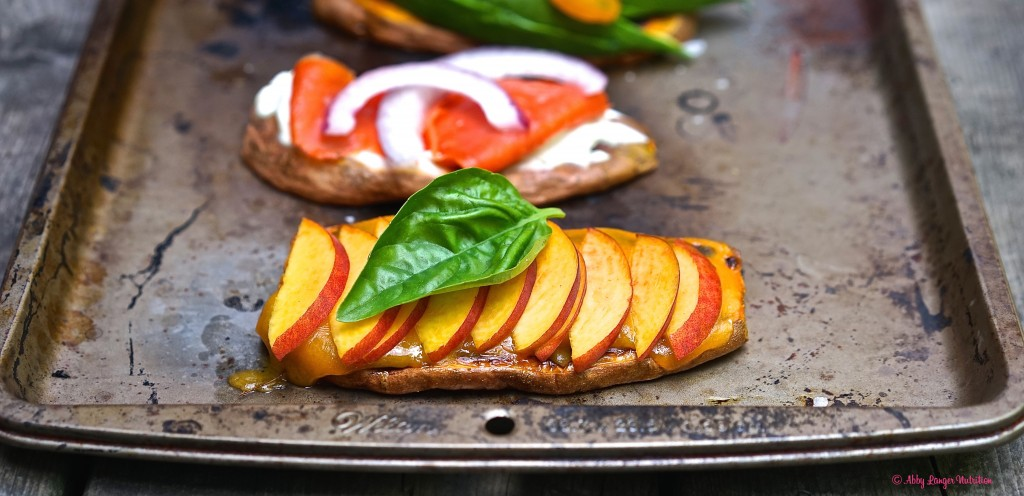 Gluten Free Vegetarian Sweet Potato Toast