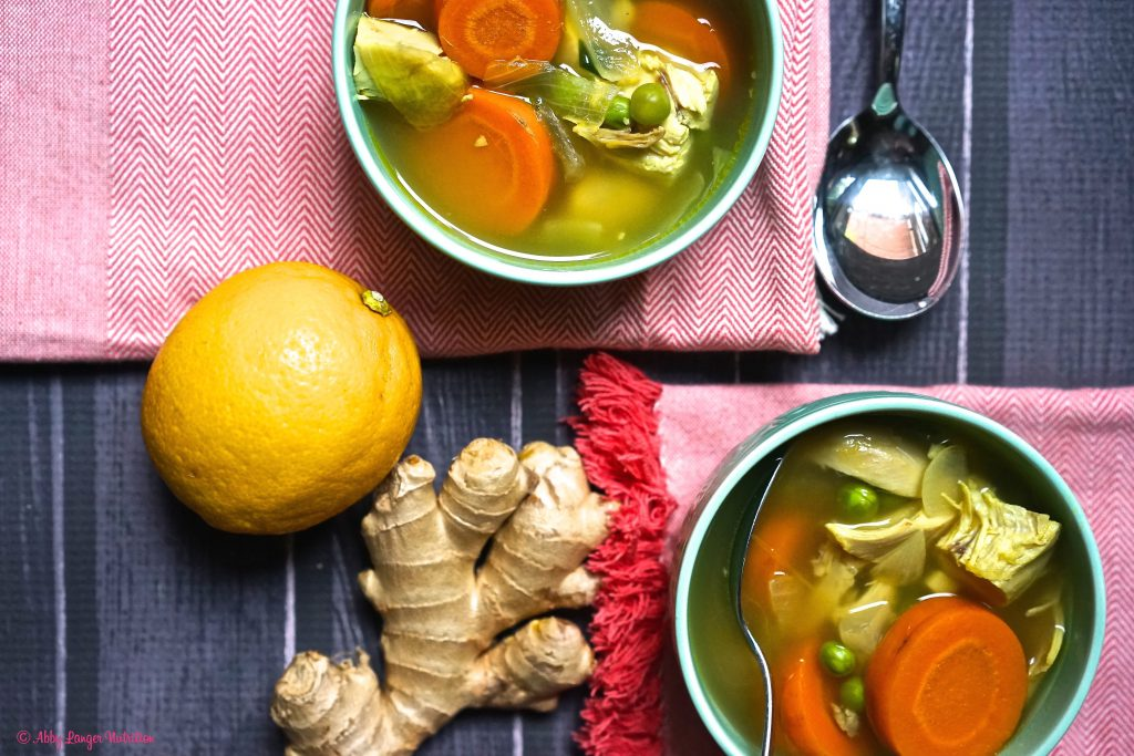 Recipe: Cold-Busting Chicken Soup with Lemon and Ginger