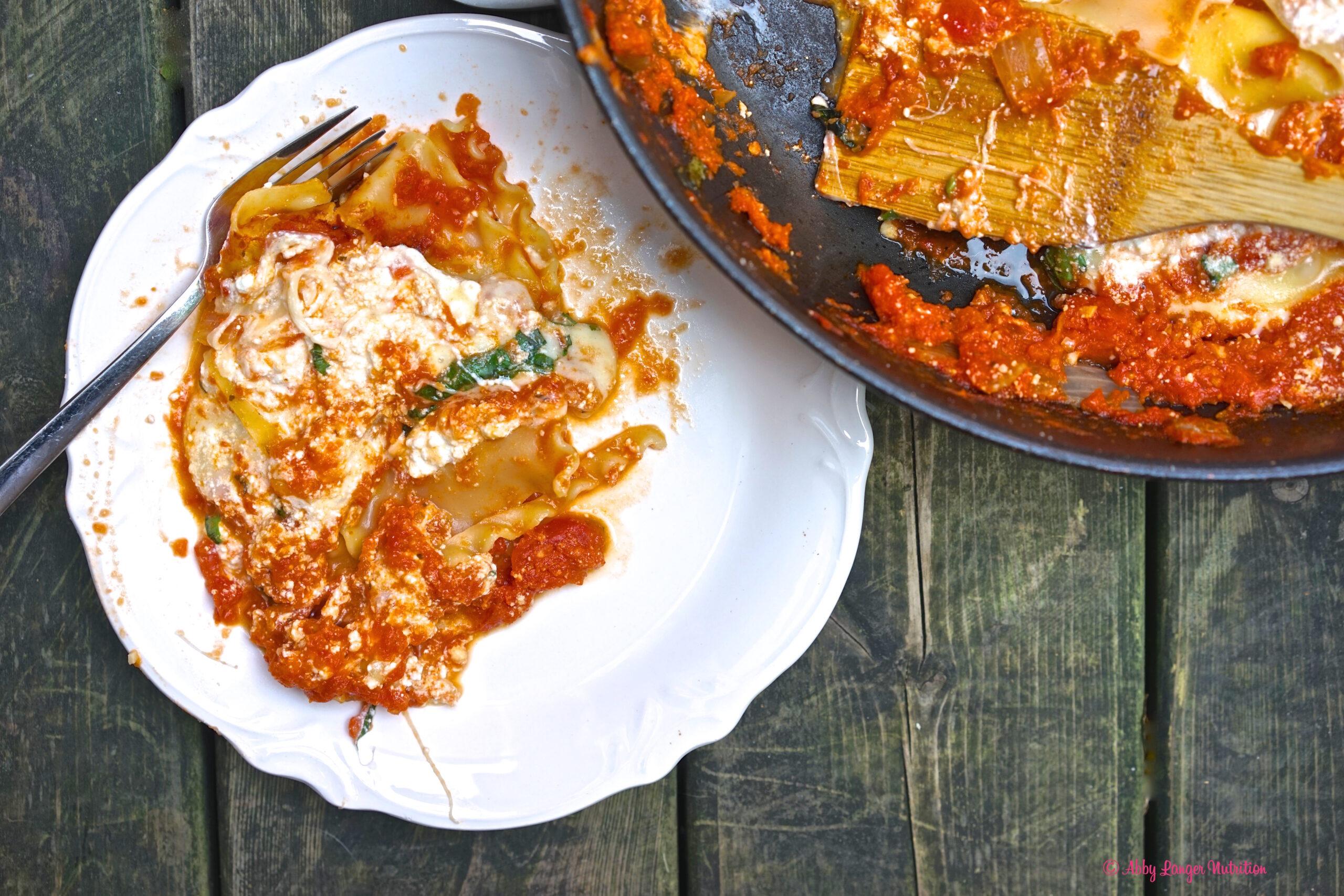 Skillet Lasagna 2