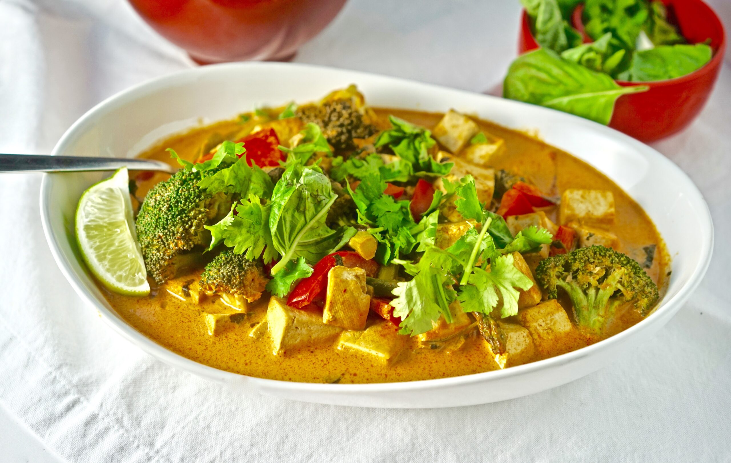 awesome vegan thai red curry recipe