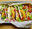 Crispy Avocado Tacos with Chipotle Sauce