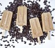Vanilla Cold Brew Popsicles with Cacao Nibs